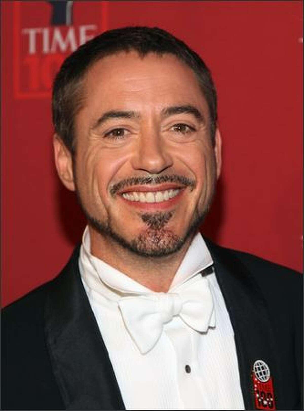 Actor Robert Downey Jr. arrives.