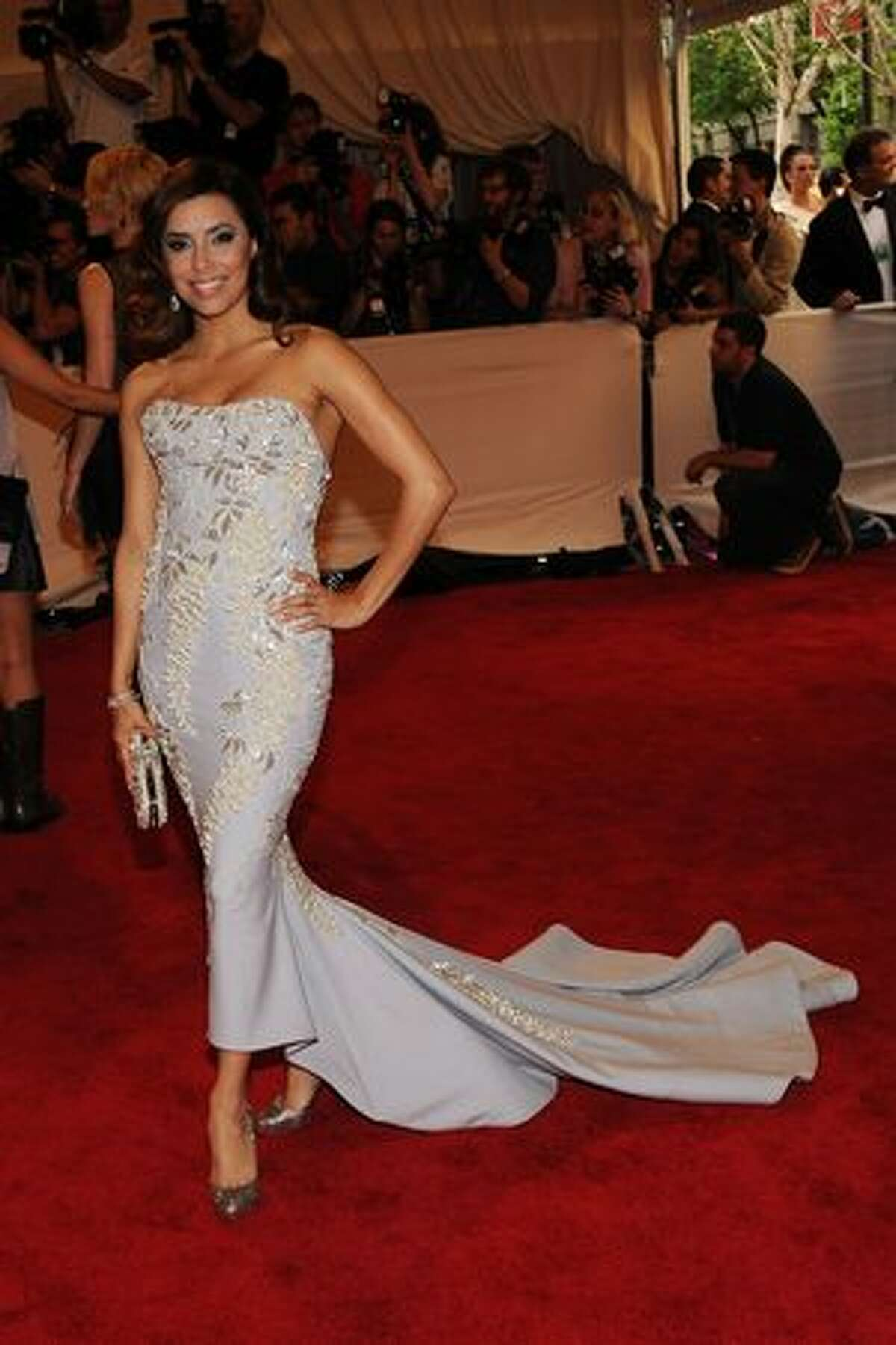 Actress Eva Longoria Parker attends the Costume Institute Gala Benefit to celebrate the opening of the