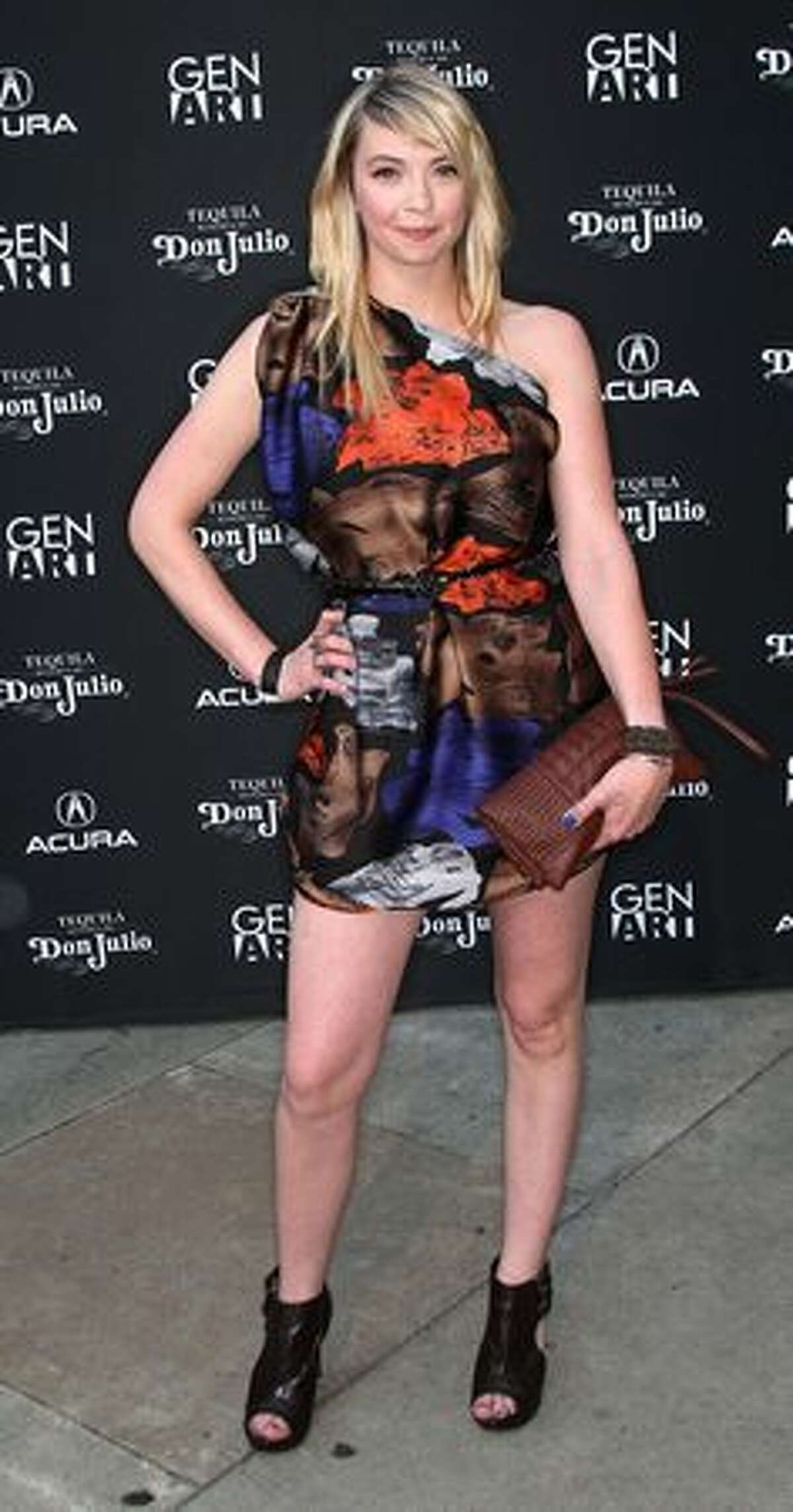 Actress Jamie Strange attends the