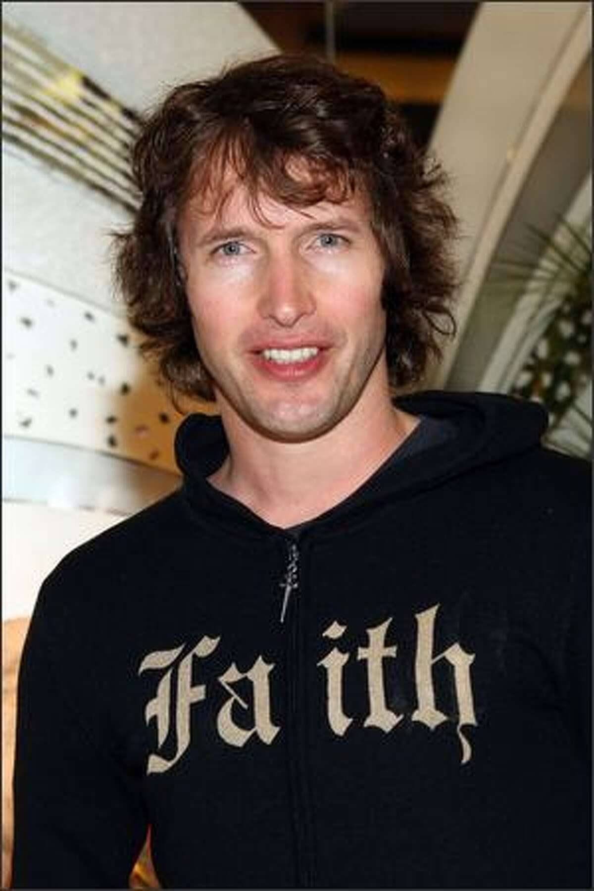 Singer James Blunt arrives for a special performance for the Miracle Africa International Foundation Charity sponsored by Chopard at the VIP Room in Cannes, France.