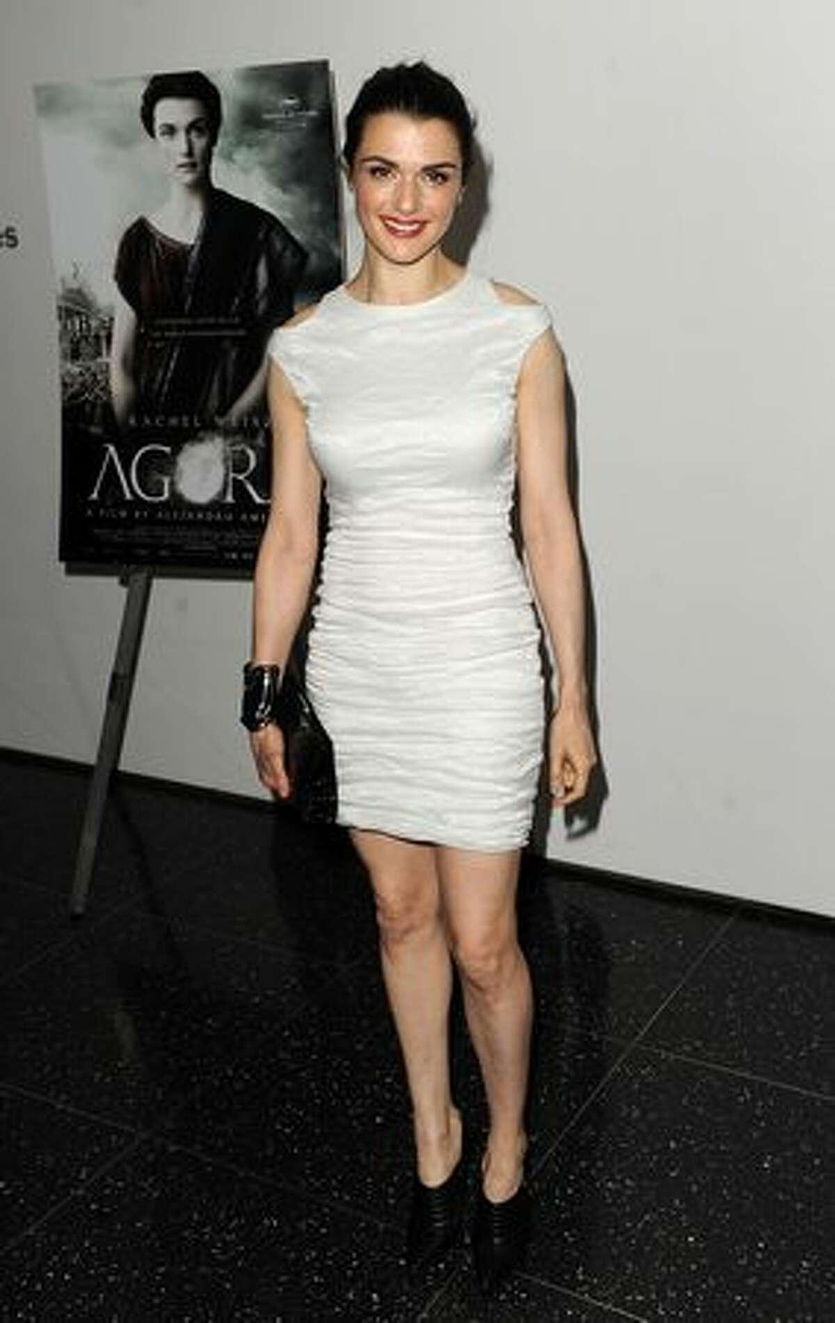 Actress Rachel Weisz attends a special screening of