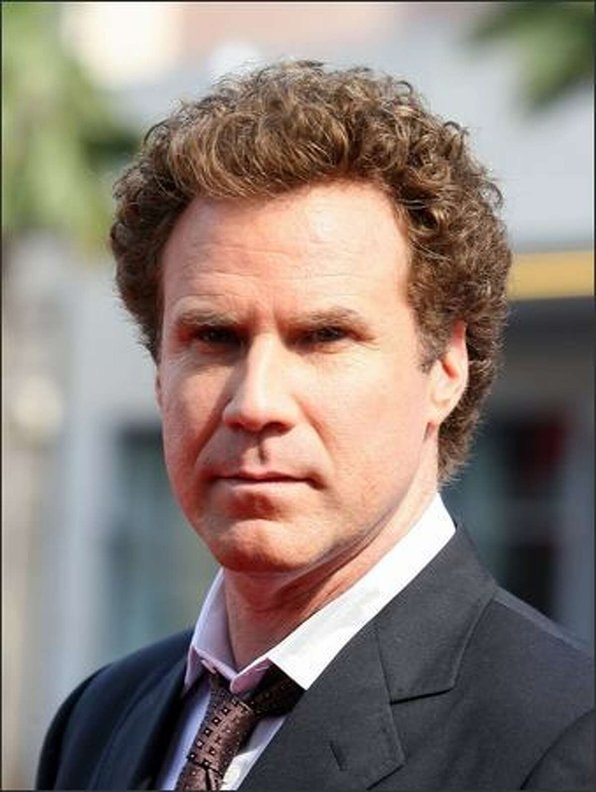 Actor Will Ferrell arrives at the premiere of Universal Pictures'