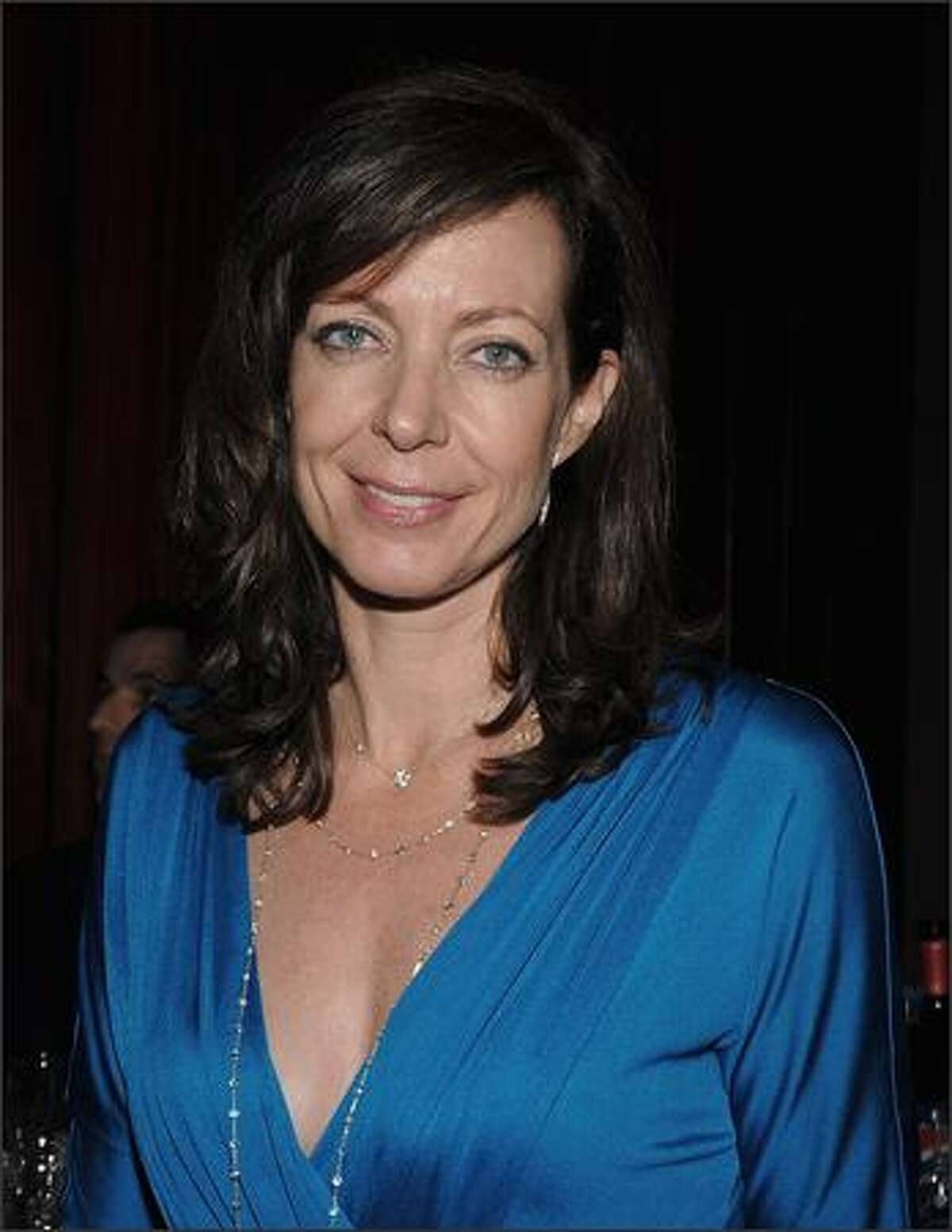Actress Allison Janney attends the after party celebrating Paul Newman's Hole in the Wall Camps at Alice Tully Hall in New York City.