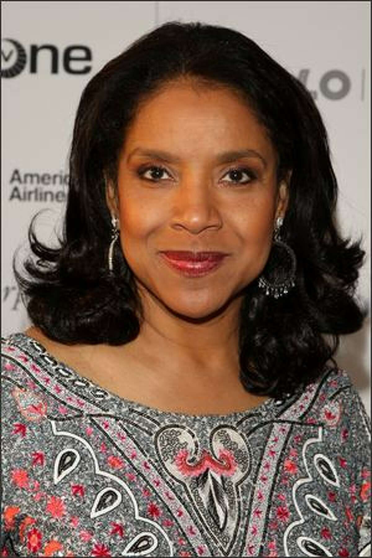 Actress Phylicia Rashad attends the Apollo Theater 75th Anniversary Gala at The Apollo Theater in New York City.