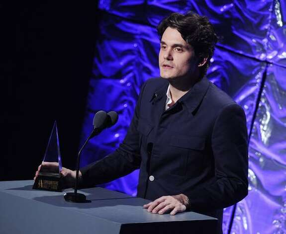 Singer/songwriter John Mayer attends the 41st annual Songwriters Hall of Fame at The New York Marriott Marquis. Photo: Getty Images / Getty Images