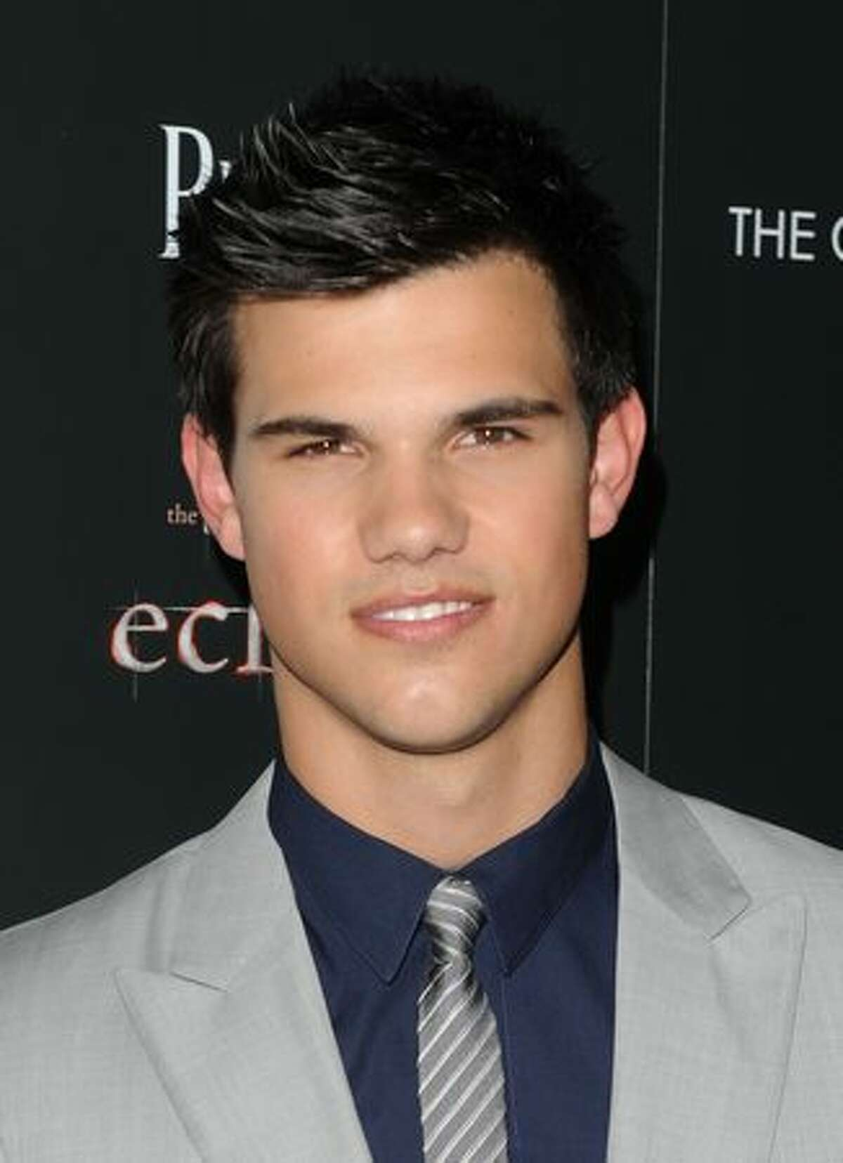 Actor Taylor Lautner attends The Cinema Society Screening Of