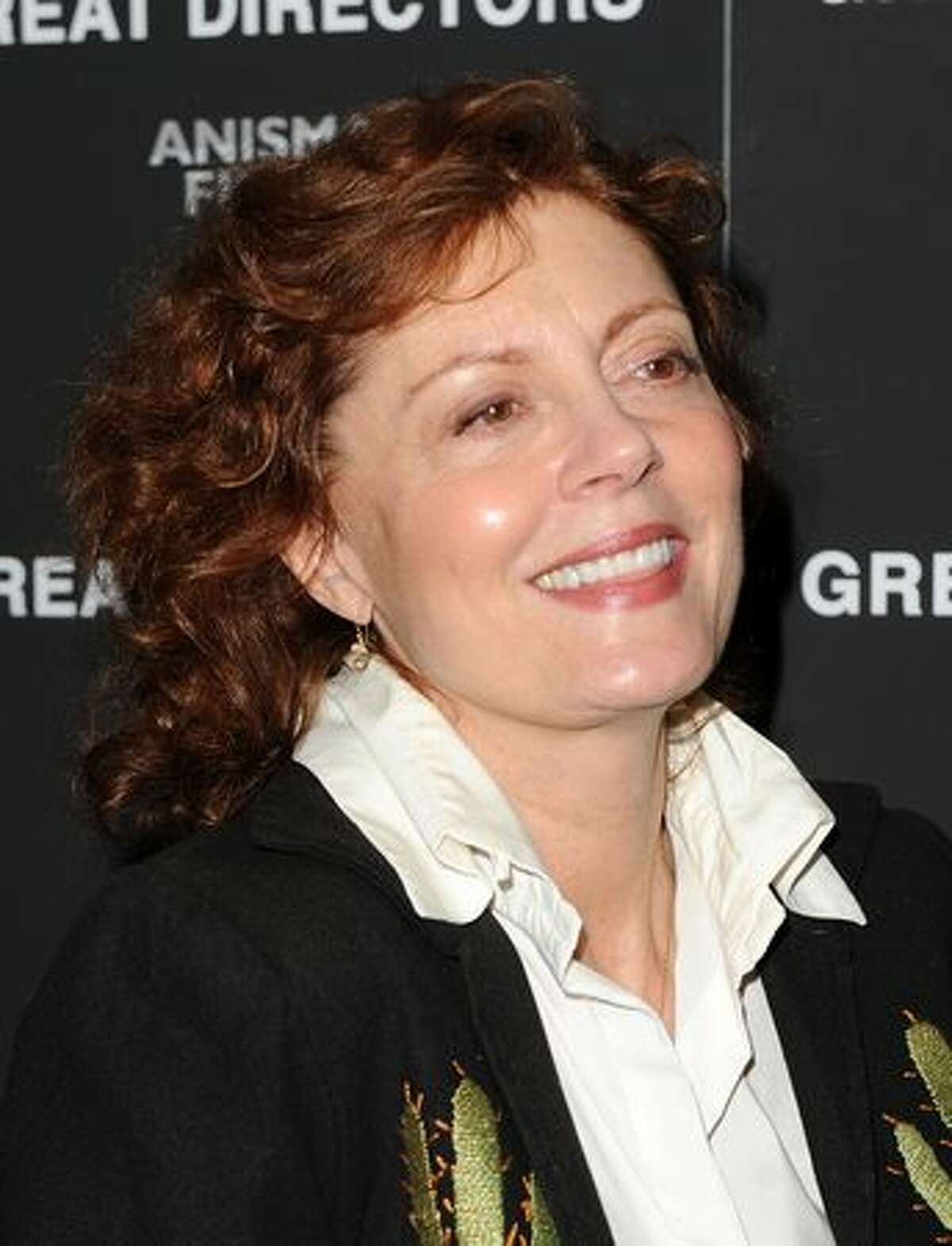 Actress Susan Sarandon attends the premiere of