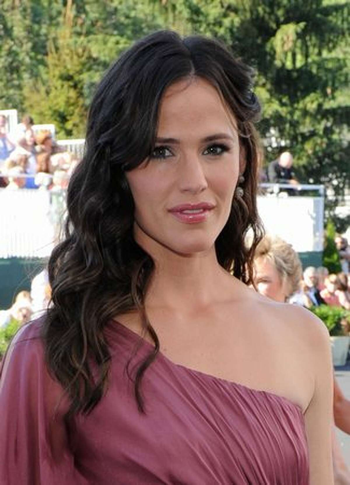 Actress Jennifer Garner attends the grand opening of the Casino Club at The Greenbrier.