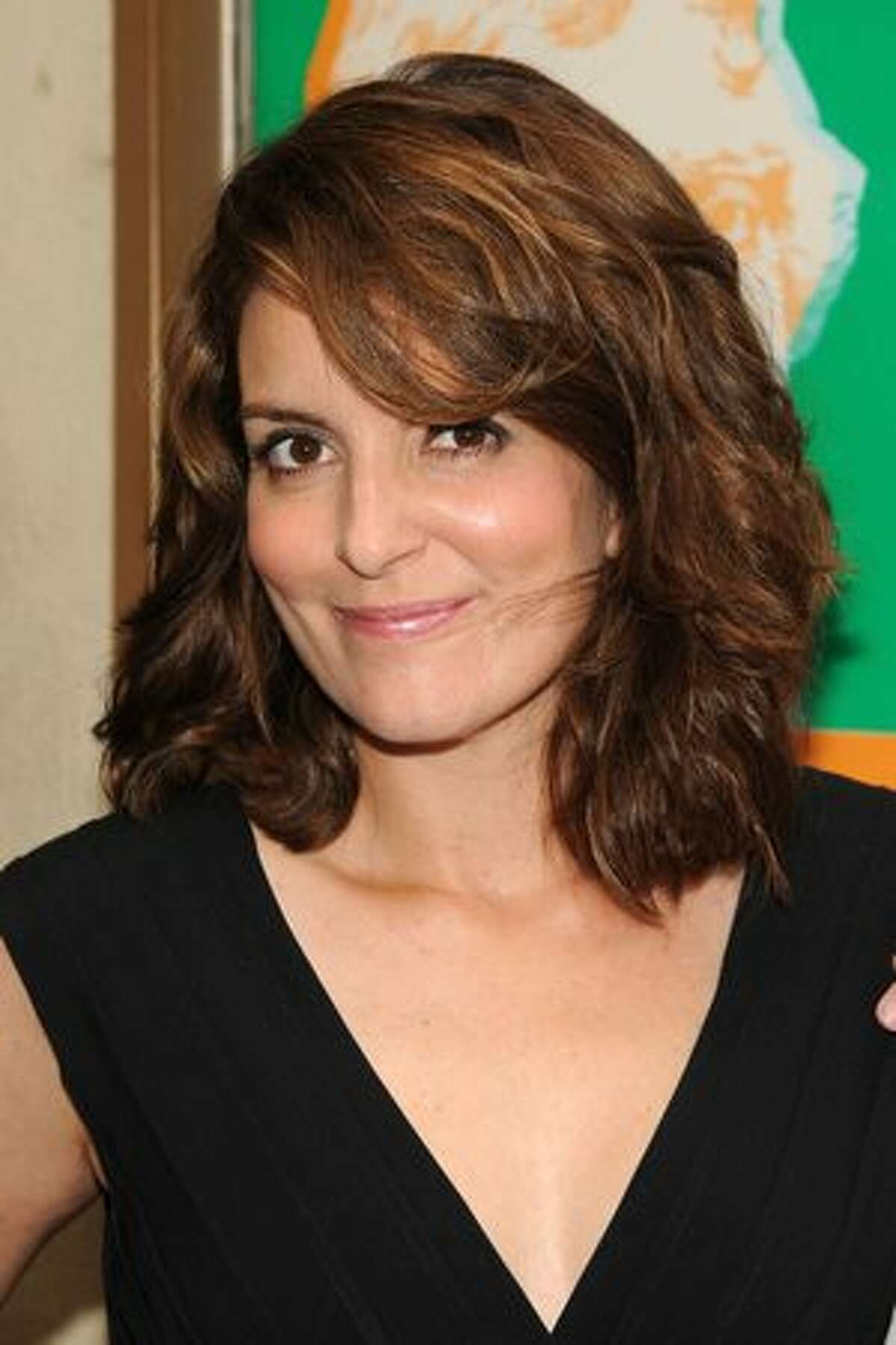 """Actress Tina Fey attends the opening night of """"We The People: America Rocks"""" at Lucille Lortel Theatre."""