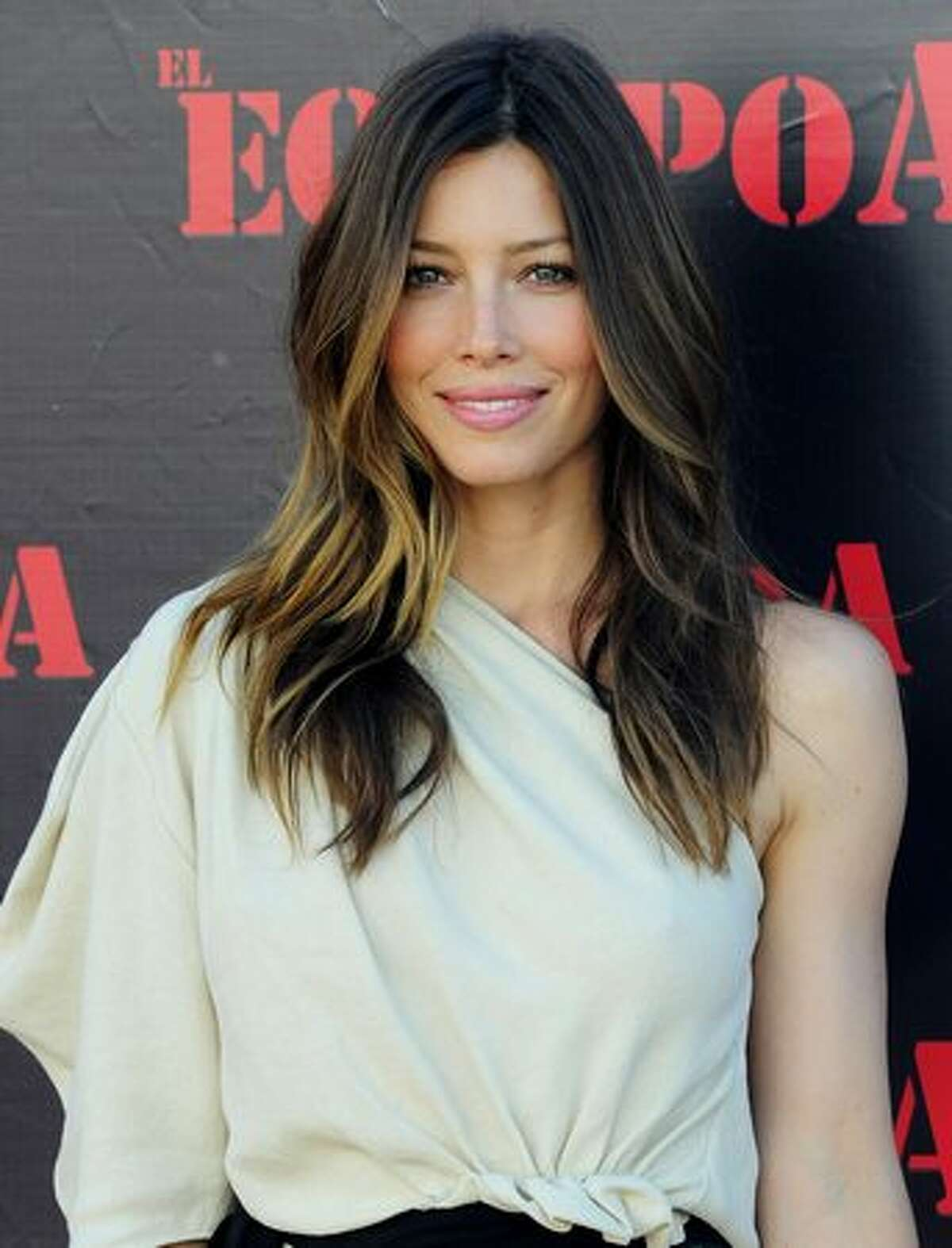 """Actress Jessica Biel attends """"The A-Team"""" photocall at ME Hotel."""