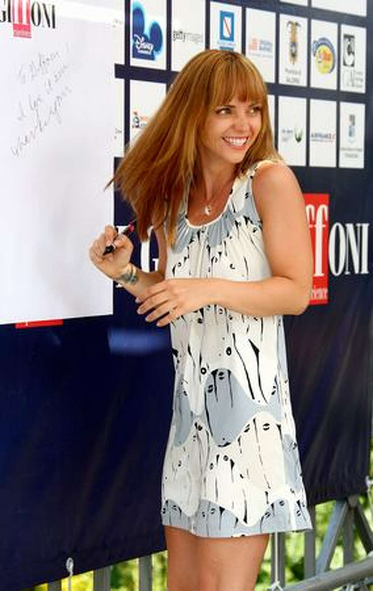 Actress Christina Ricci attends a photocall during the 2009 Giffoni Experience in Salerno, Italy.