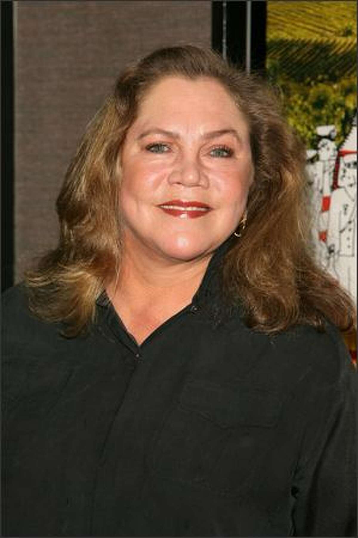 Actress Kathleen Turner arrives at the premiere of