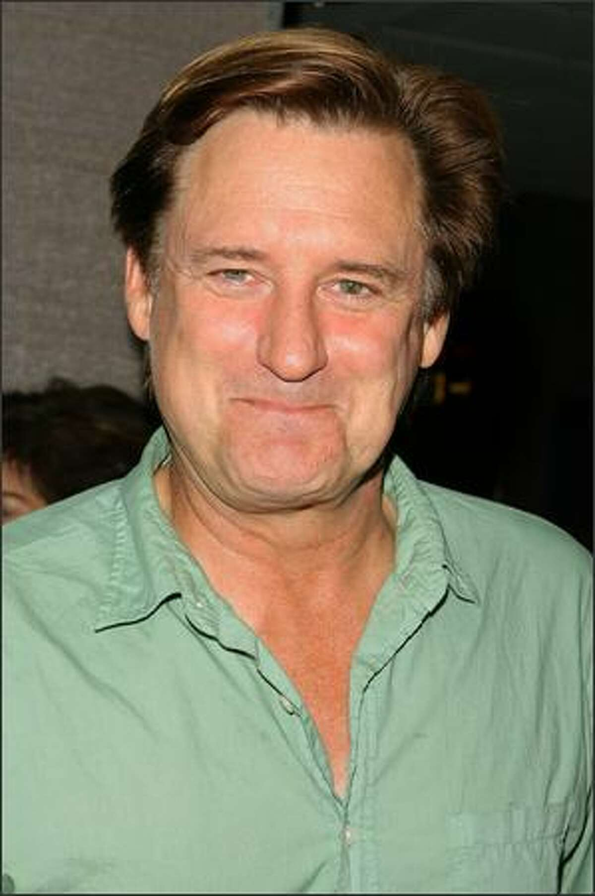 Actor Bill Pullman arrives at the premiere of