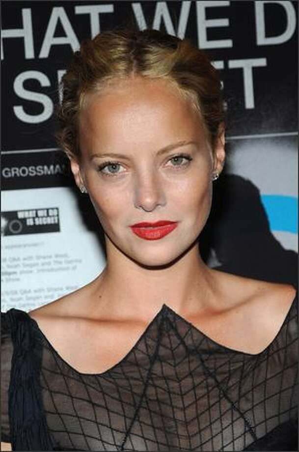 "Actress Bijou Phillips attends the premiere Of ""What We Do Is Secret"" at the Landmark Sunshine Cinemas in New York City. Photo: Getty Images / Getty Images"