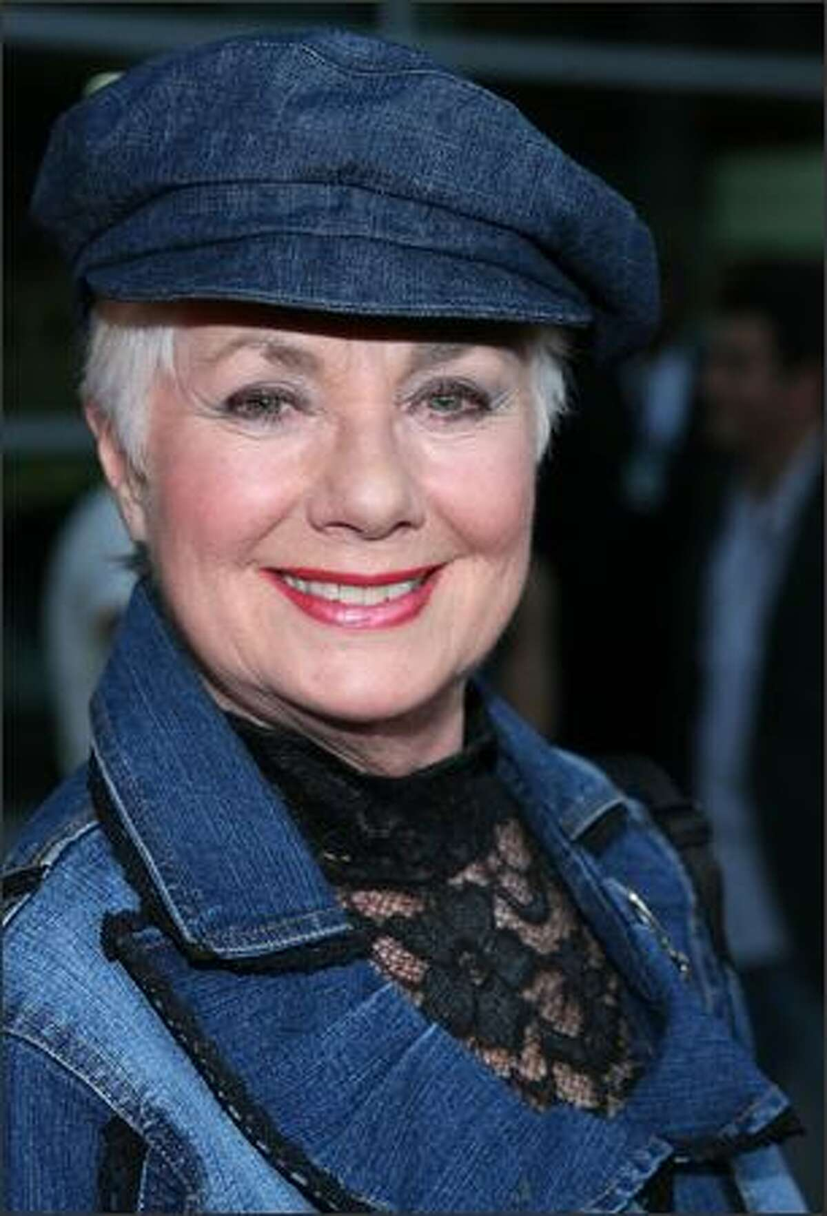 Actress Shirley Jones arrives at the premiere of Overture Films'