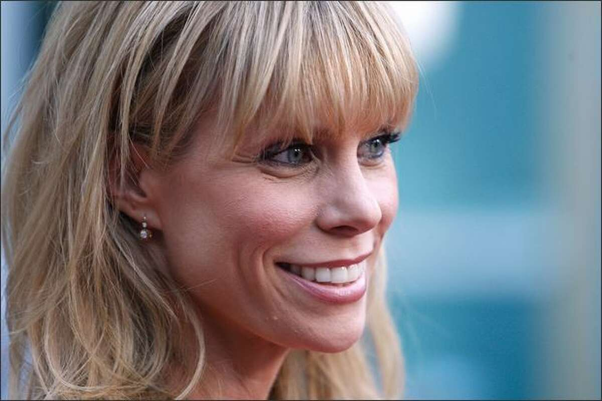 Actress Cheryl Hines arrives at the premiere of Overture Films'
