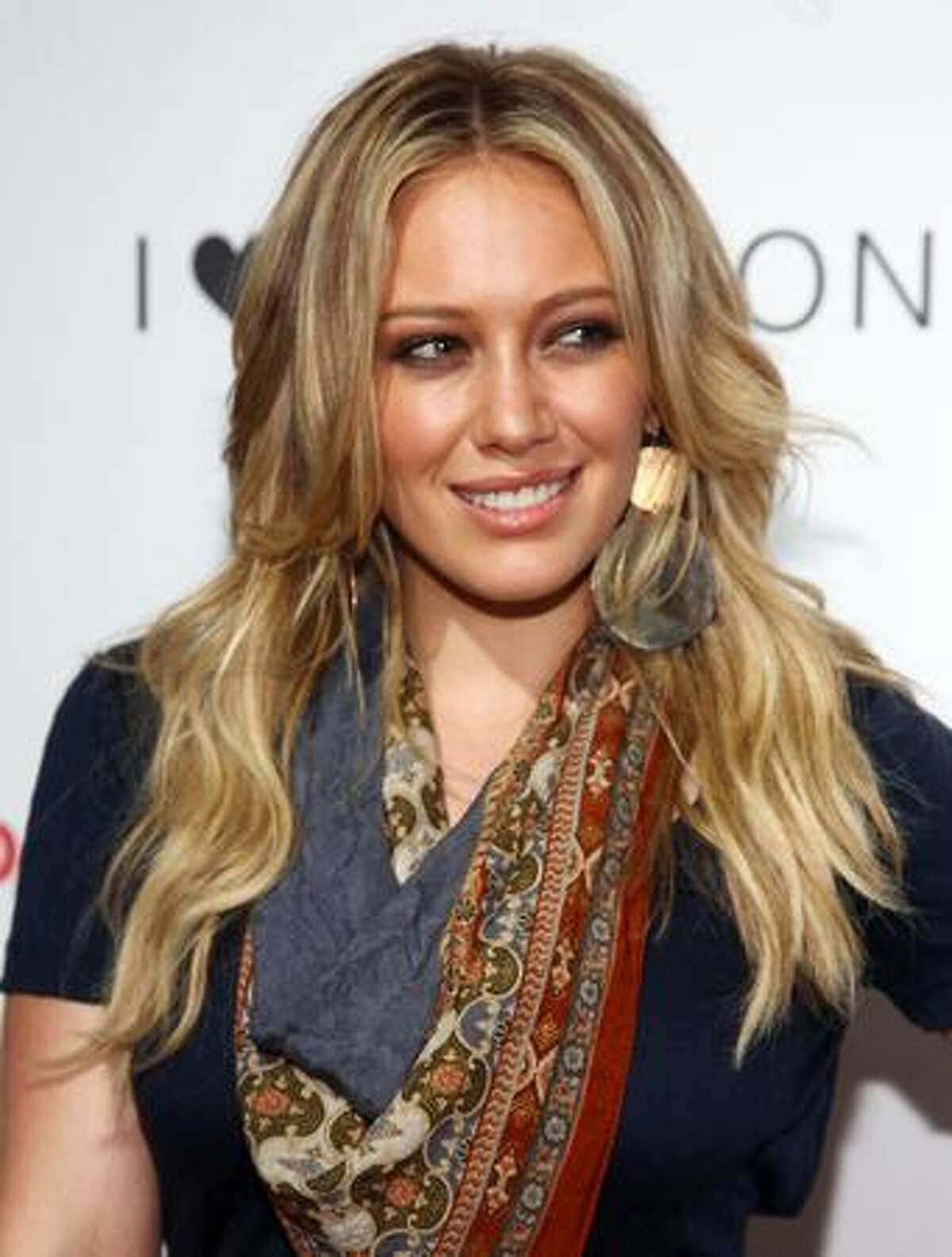 Actress Hilary Duff attends the celebration of the I
