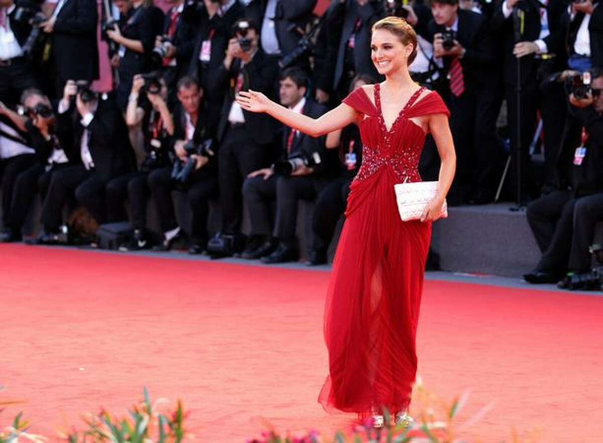 """Actress Natalie Portman attends the Opening Ceremony and """"Black Swan"""" premiere during the 67th Venice Film Festival at the Sala Grande Palazzo Del Cinema in Venice, Italy."""