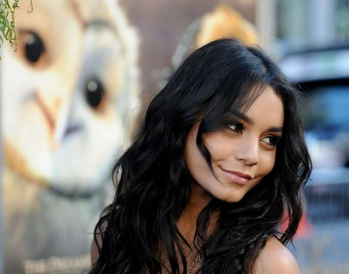 Actress Vanessa Hudgens arrives at the premiere of Warner Bros.