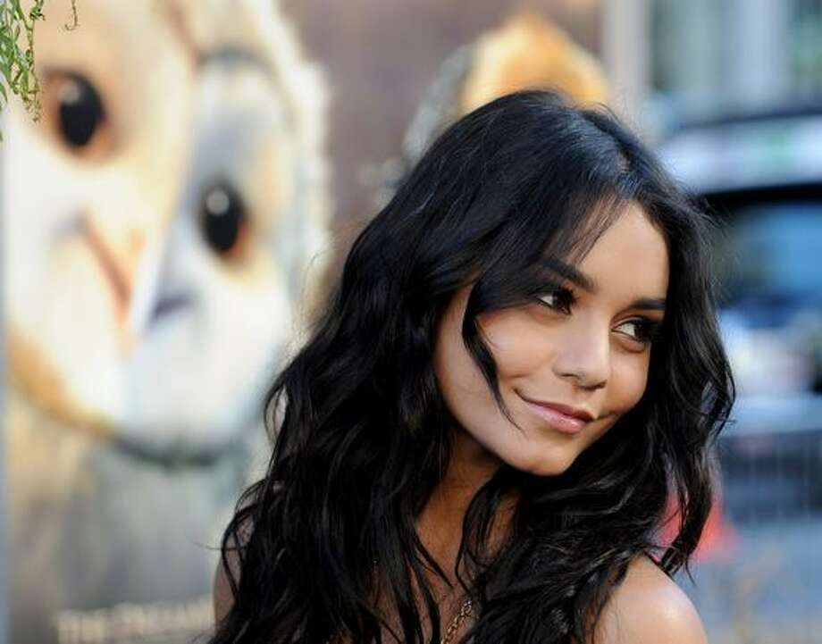 "Actress Vanessa Hudgens arrives at the premiere of Warner Bros. ""Legend of The Guardians: The Owls of Ga'Hoole"" at the Chinese Theater in Los Angeles, California. Photo: Getty Images / Getty Images"
