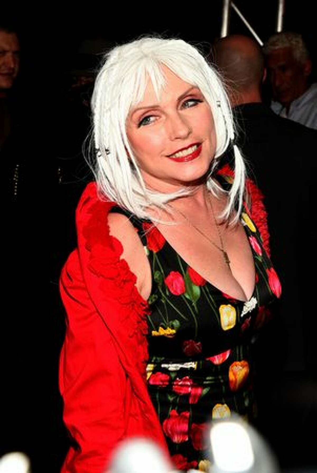 Singer Deborah Harry attends Starbucks Frappuccino at L.A.M.B Spring 2011 fashion show during Mercedes-Benz Fashion Week Spring 2011 in New York City.