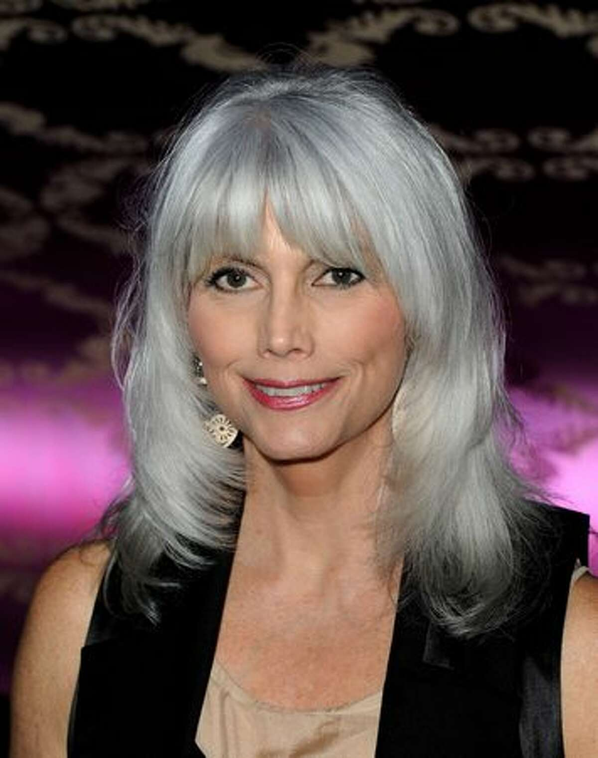 Singer/songwriter Emmylou Harris arrives at the Country Music Hall of Fame & Museum's
