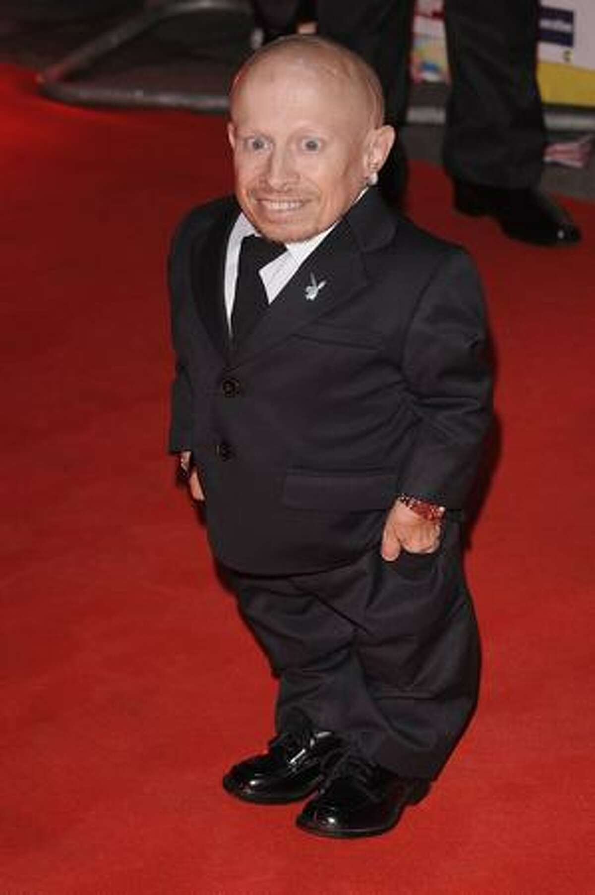 Verne Troyer attends the Pride of Britain Awards at the Grosvenor House Hotel on Monday in London, England.