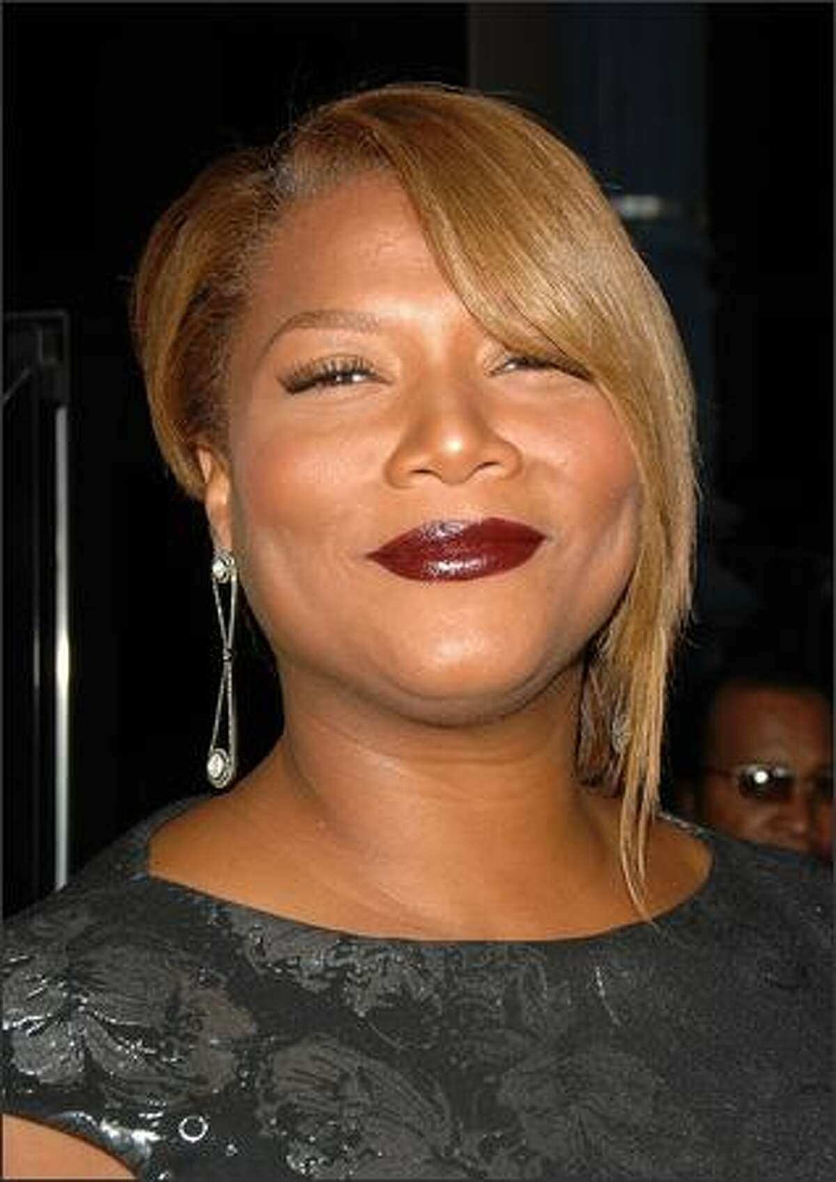"""Actress Queen Latifah arrives at the premiere of Fox Searchlight's """"The Secret Life Of Bees"""" held at the Academy of Motion Picture Arts and Sciences in Beverly Hills, California."""