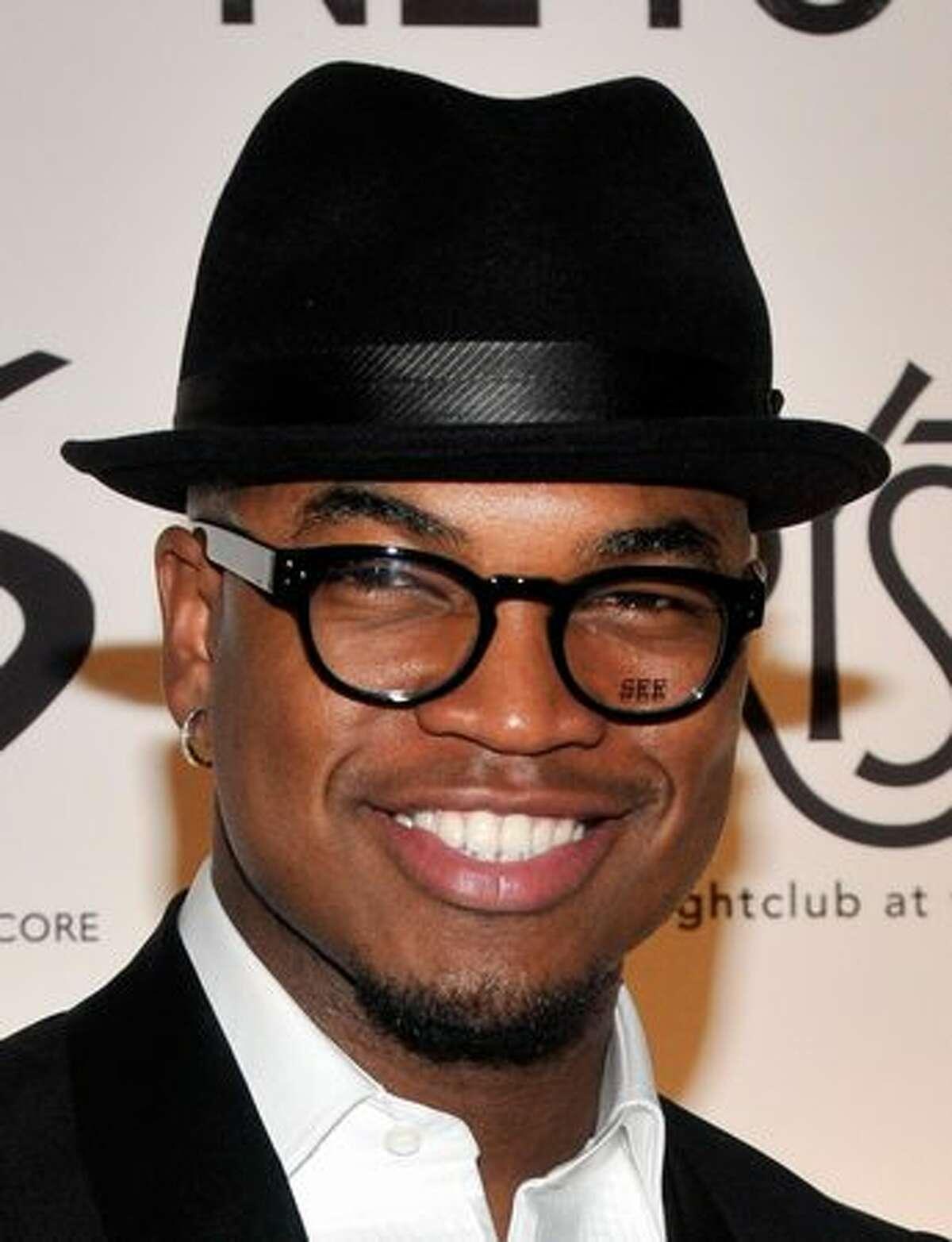Singer/songwriter Ne-Yo arrives to celebrate his birthday at the Tryst nightclub in Las Vegas, Nevada.