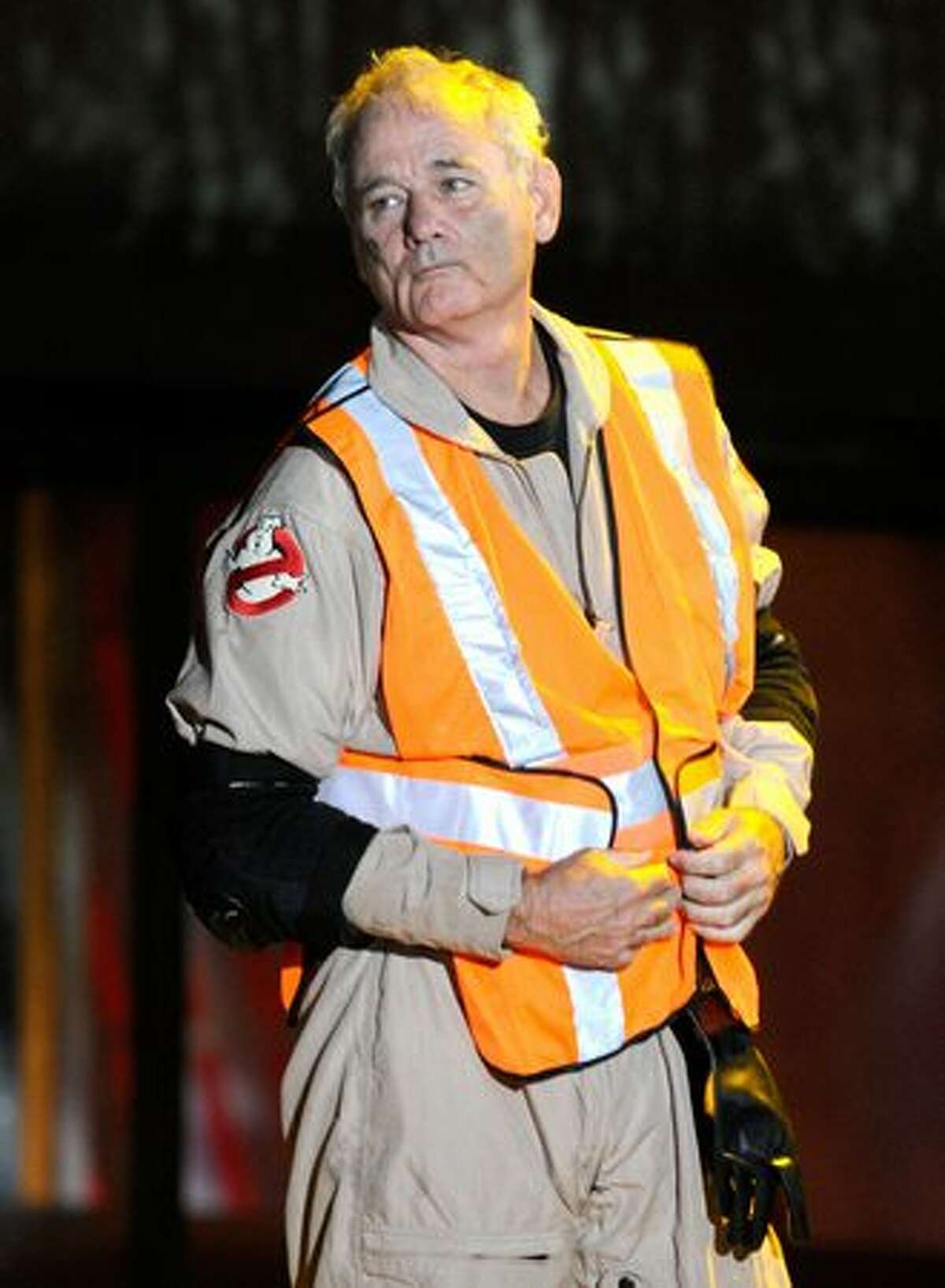 Actor Bill Murray accepts the Best Horror Movie award onstage during Spike TV's