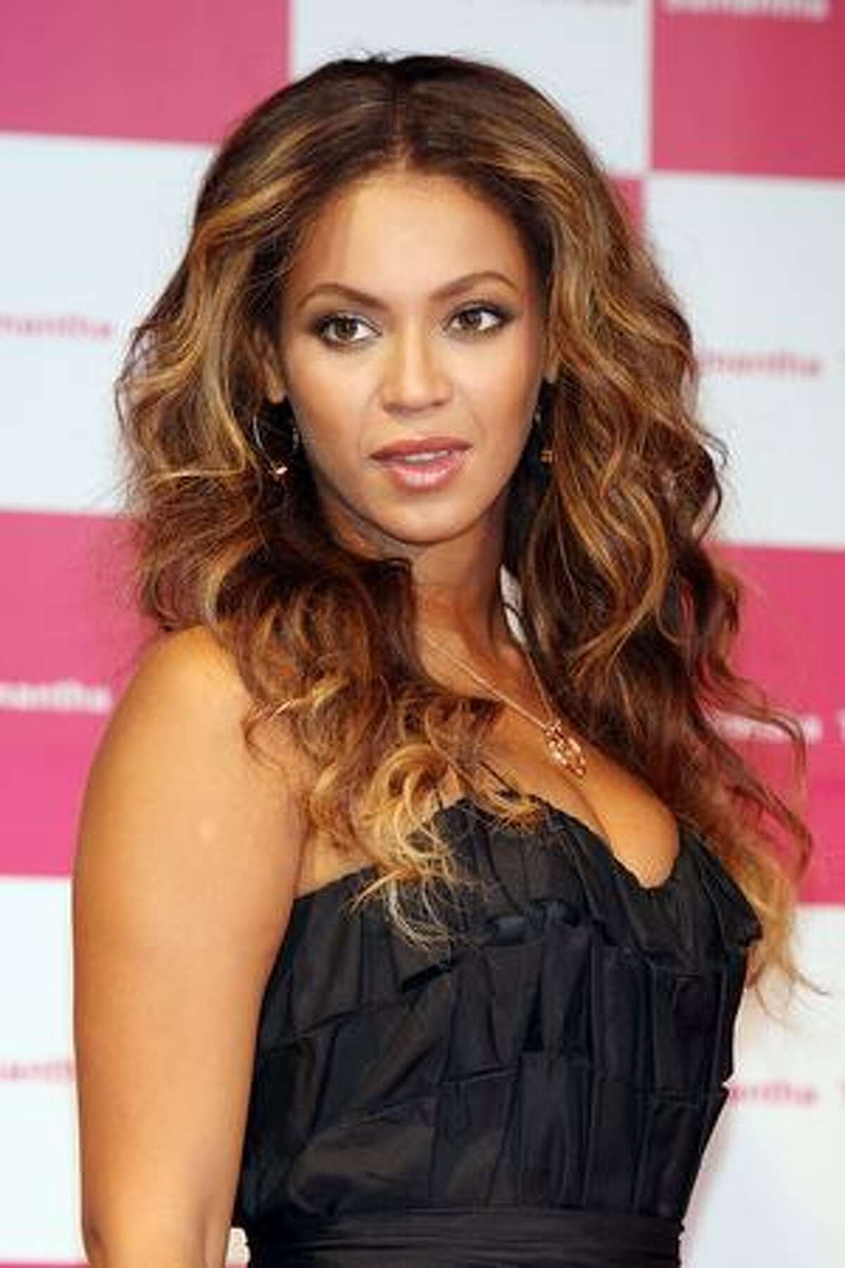Singer Beyonce attends 'Samantha Thavasa/Special Meet and Greet with Beyonce' at Studio Mouris Roppongi in Tokyo, Japan.