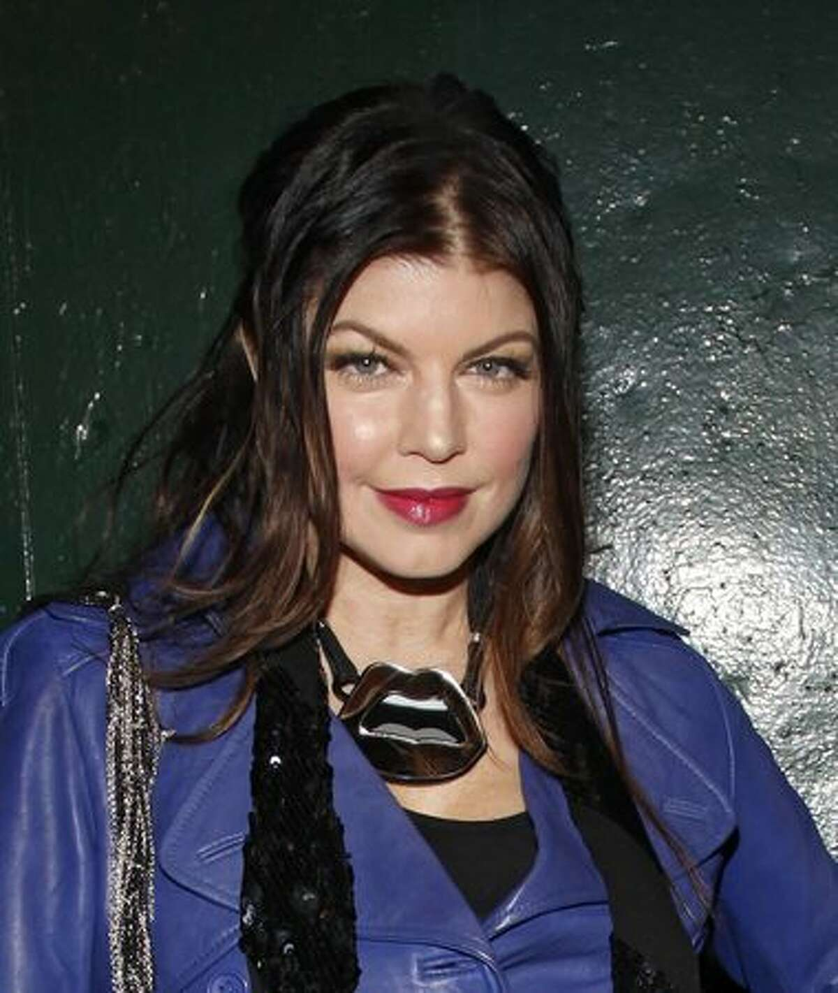 Singer Fergie of The Black Eyed Peas attends the Jump Footwear Launch TABOOXJUMP at Juliet in New York City.