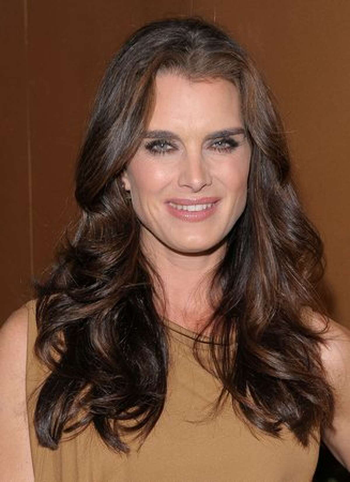 Actress Brooke Shields attends the MoMA's Second Annual Film Benefit, Honoring Tim Burton at the MOMA in New York.
