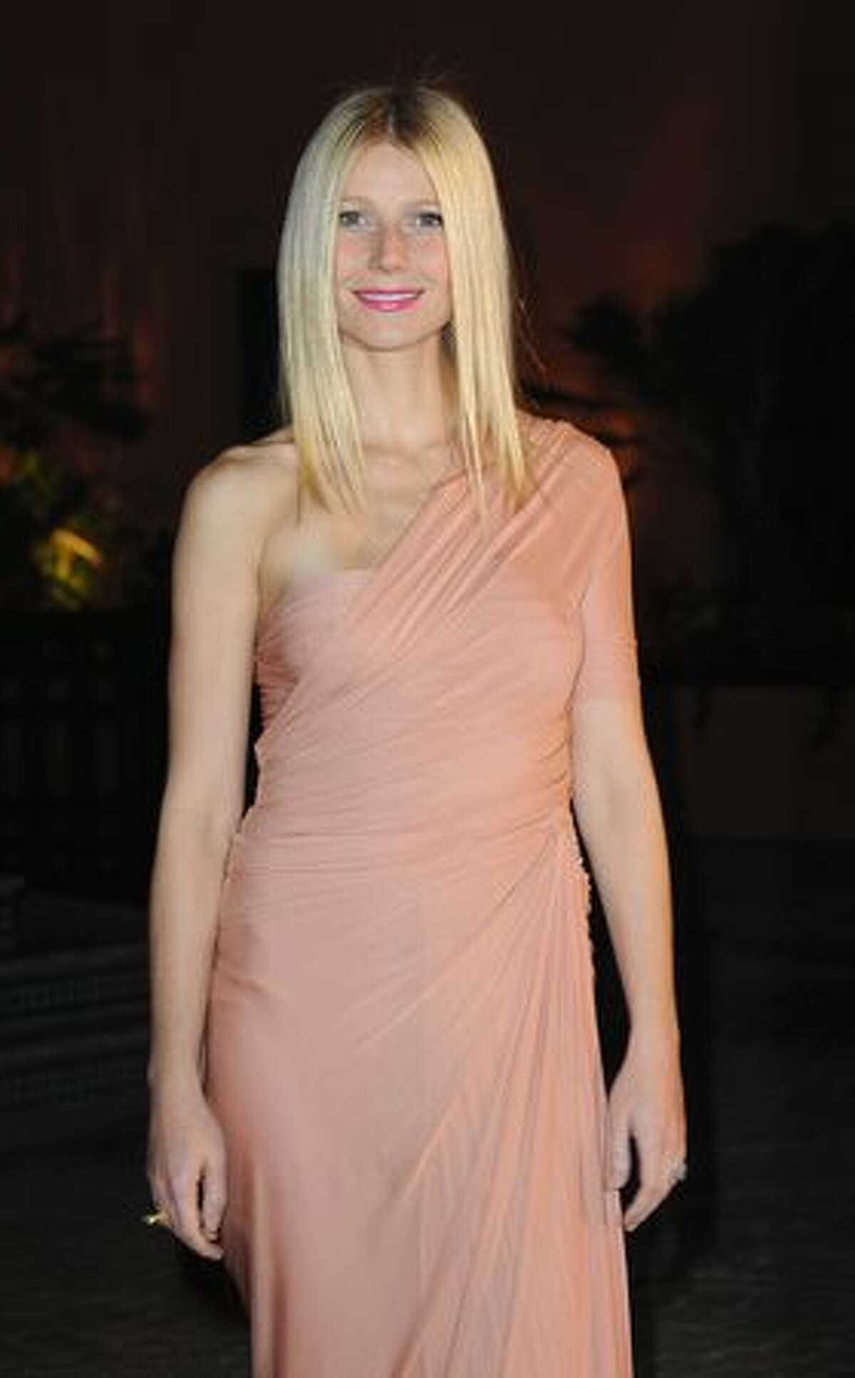 Actress Gwyneth Paltrow attends the Mamounia hotel inauguration in Marrakech, Morocco.