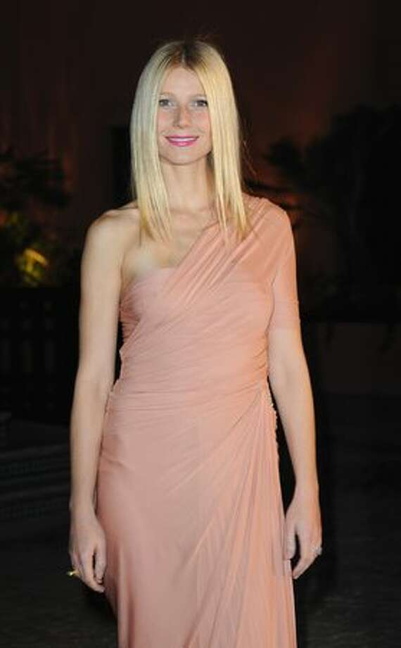 Actress Gwyneth Paltrow attends the Mamounia hotel inauguration in Marrakech, Morocco. Photo: Getty Images / Getty Images