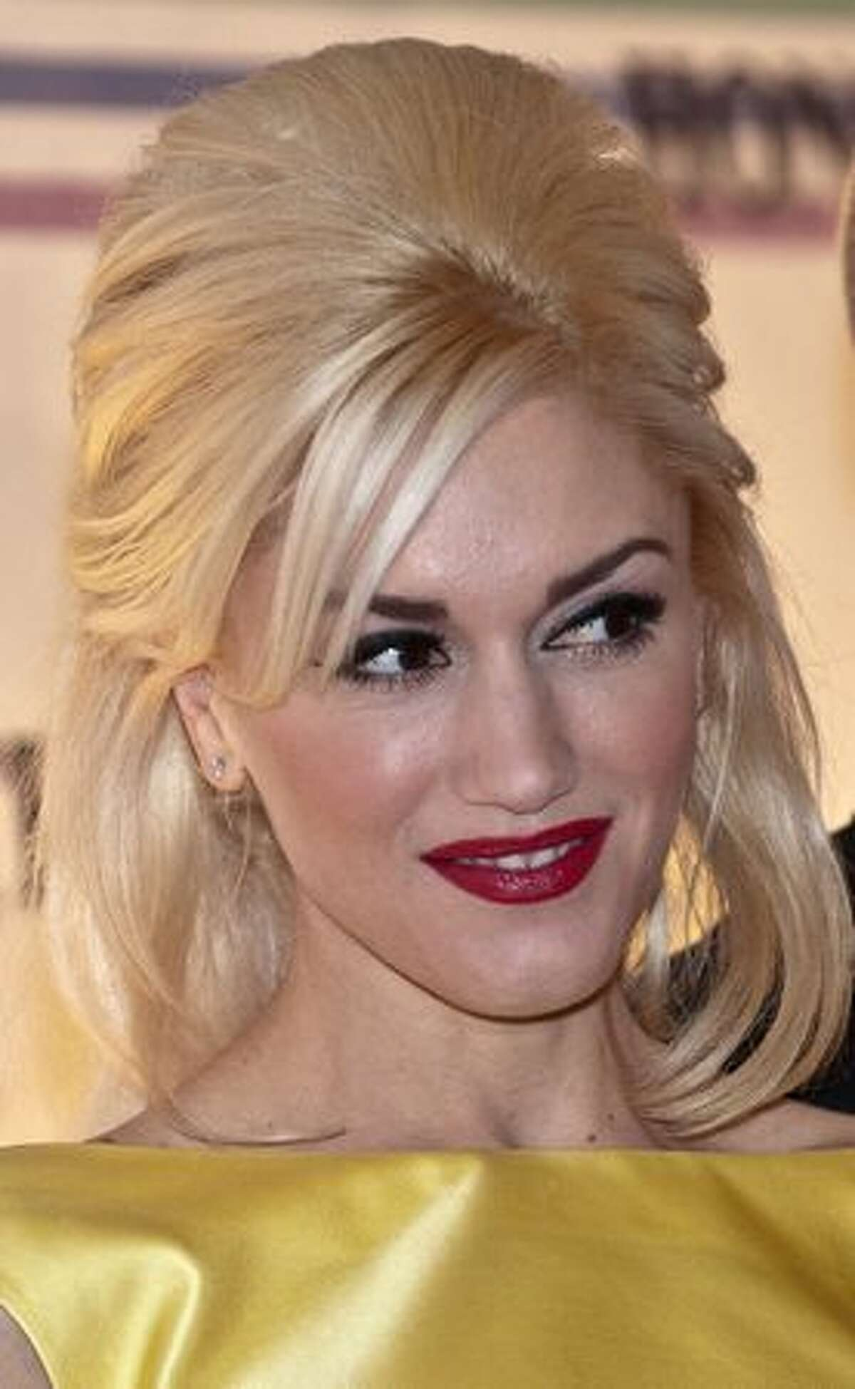 Singer Gwen Stefani poses on the red carpet of the Kennedy Center Honors gala performance at the Kennedy Center in Washington.