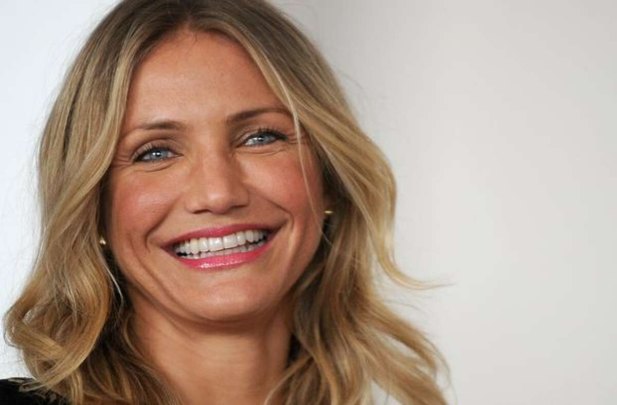 Actress Cameron Diaz poses during the photocall of Green Hornet by director Michel Gondry in Rome.