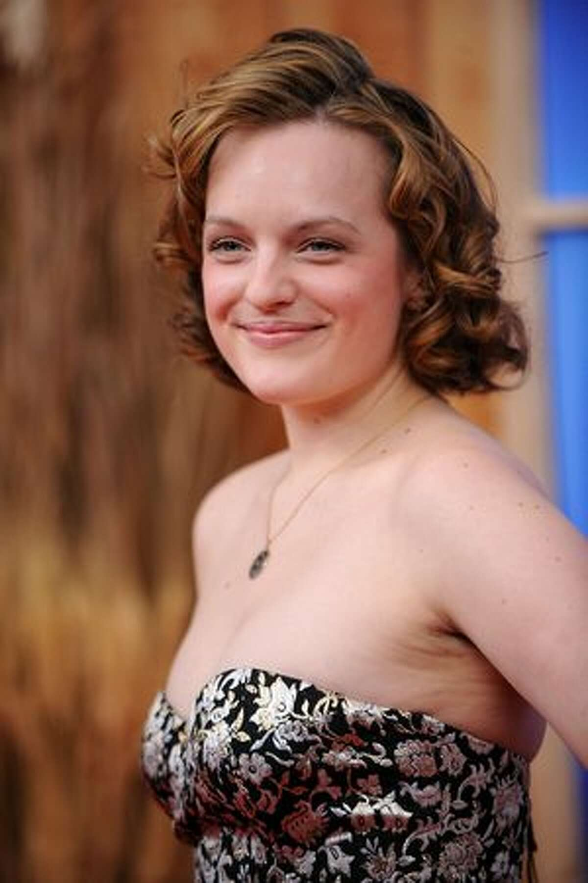 Actress Elizabeth Moss attends the premiere of