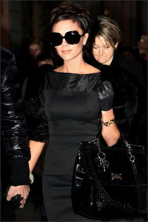 Singer Victoria Beckham is seen December 21, 2008 in Milan, Italy. Photo: Getty Images / Getty Images