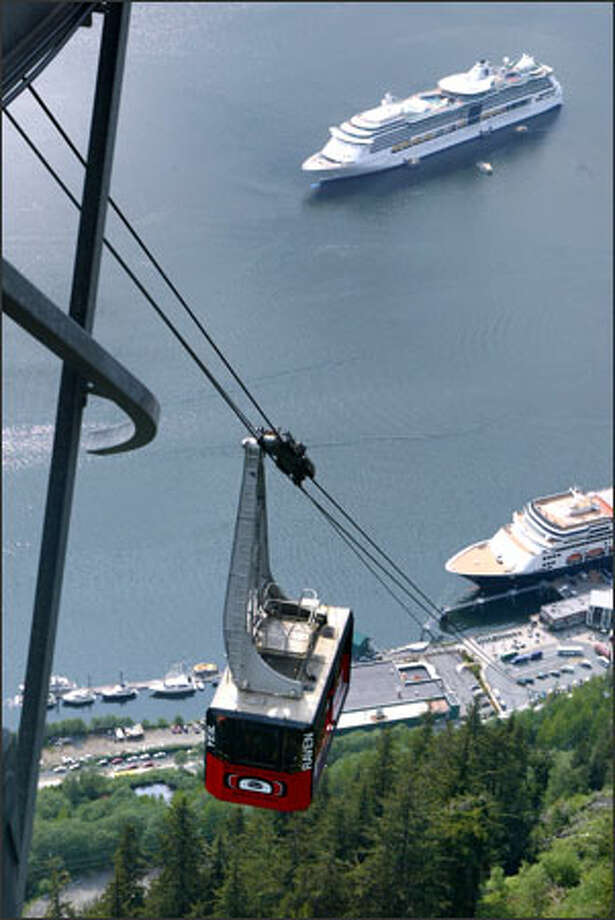 Cruise ship operators report increased demand for trips to all their major destinations, including Europe, the Caribbean and Juneau, Alaska. Prices for trips are increasing, but many travelers still consider cruises to be a bargain. Photo: Phil H. Webber, Seattle Post-Intelligencer / Seattle Post-Intelligencer