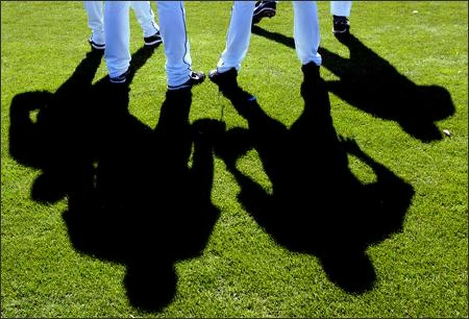 Pitchers wait for their turn on the mound. Photo: Grant M. Haller, Seattle Post-Intelligencer / Seattle Post-Intelligencer