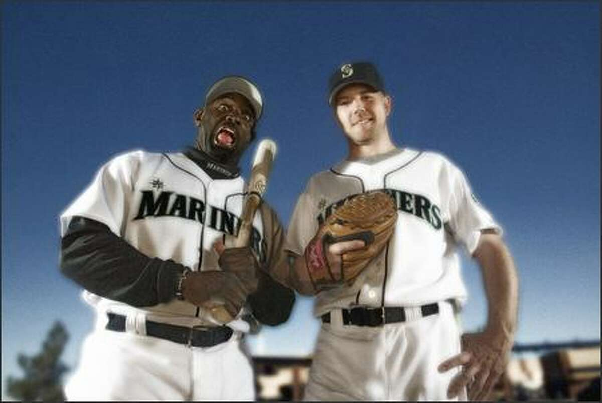 New Seattle Mariners Carl Everett and Jarrod Washburn hope to add some personality and production to the team.