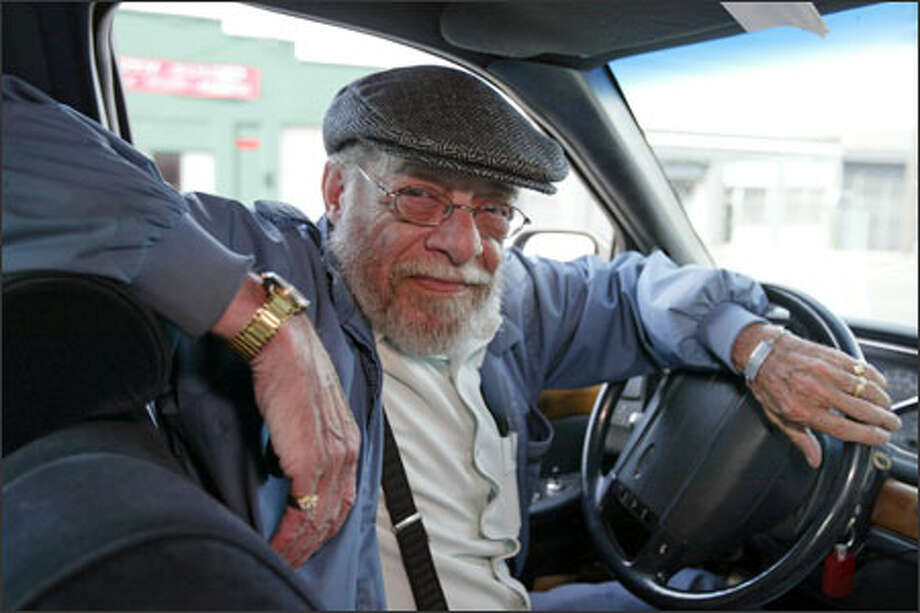 "Dan ""Shorty"" Hubbard says the city of Tacoma's plan for regulation of taxis could hurt small operators like him. Photo: Mike Urban, Seattle Post-Intelligencer / Seattle Post-Intelligencer"