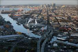The Duwamish River is the name of the lower 12 miles of the Green River. It's industrialized estuary is known as the Duwamish Waterway. The lower five miles of the Duwamish was declared a Superfund site by the U.S. Environmental Protection Agency.