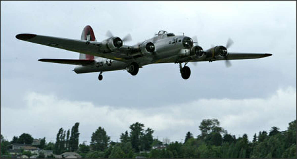 Seattle welcomed an old visitor Wednesday when a B-17 Flying Fortress named the Aluminum Overcast returns to Boeing Field for the Memorial Day weekend. The bomber will be at the Museum of Flight through Monday, and the public can tour the plane or take 30-minute rides. The cost of a ride is $399, and members of the Experimental Aircraft Association get a discount. Saturday, Sunday and Monday, the public can meet four of the African American pilots who became known as the Tuskegee Airmen during World War II. Those pilots helped escort B-17 bombers on daylight bombing raids over Germany.