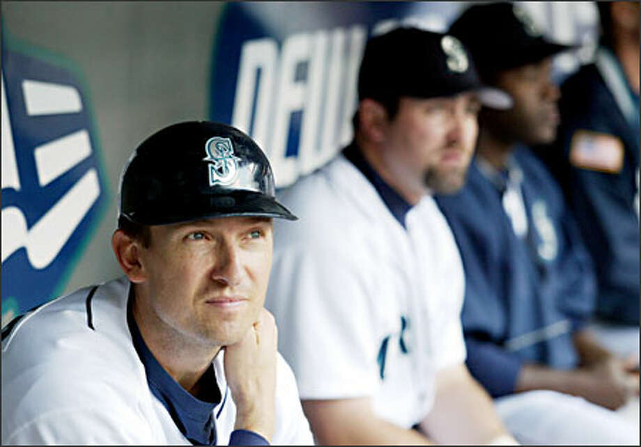Mariners first baseman John Olerud, a .297 hitter with 239 homers entering this season, is batting .237 with two homers and nine RBIs in 2004. Photo: Scott Eklund, Seattle Post-Intelligencer / Seattle Post-Intelligencer
