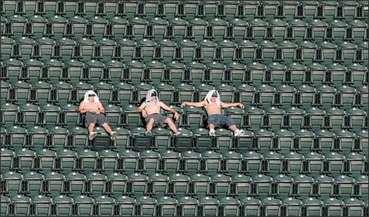 Safeco Field's upper deck has been sparsely populated the past two seasons, but the Seattle Mariners are still fourth in attendance in the American League.