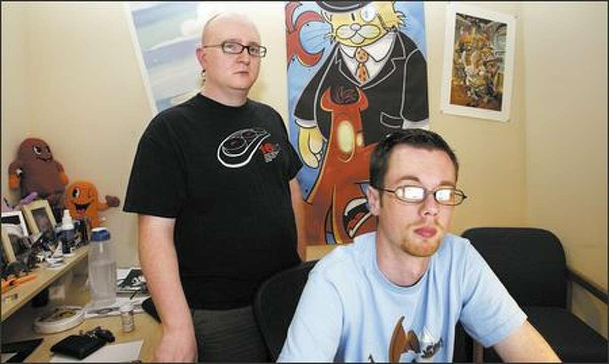 Comic strip creators Jerry