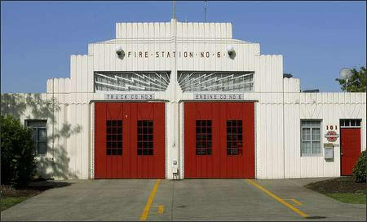 Seattle Fire Station #6 located at 23rd Avenue and E. Yesler Way.