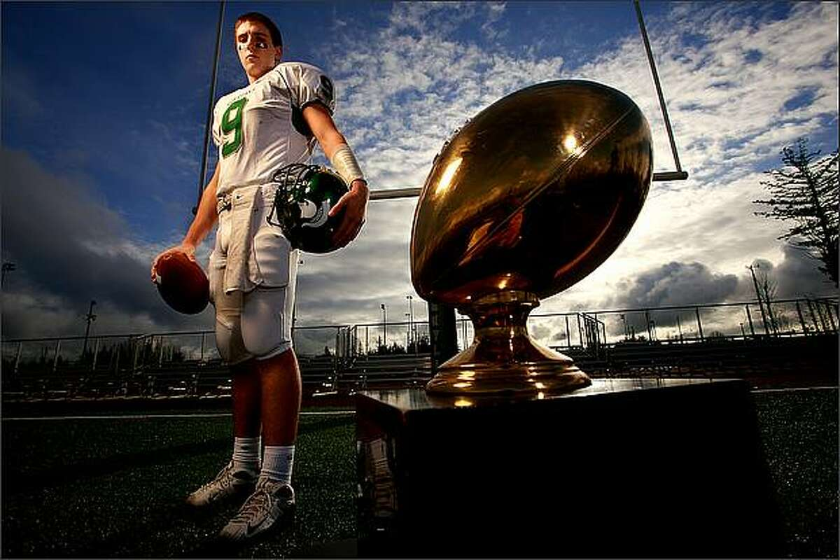 Skyline High School quarterback Jake Heaps is this year's Seattle P-I High School Most Valuable Player.